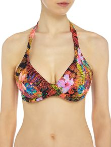 Freya Safari beach underwired halter bikini top