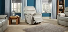 G Plan Henley Leather Power Recliner Chair