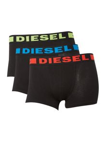 Diesel 3 Pack Kory Hero Waistband Trunks
