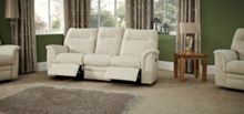 Parker Knoll Hudson 3 Seater Power Recliner Double