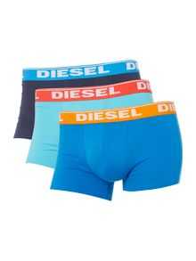 Diesel 3 Pack Shawn Logo Waistband Trunk