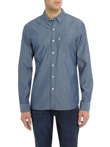 Levi's Sunset pocket geo print shirt
