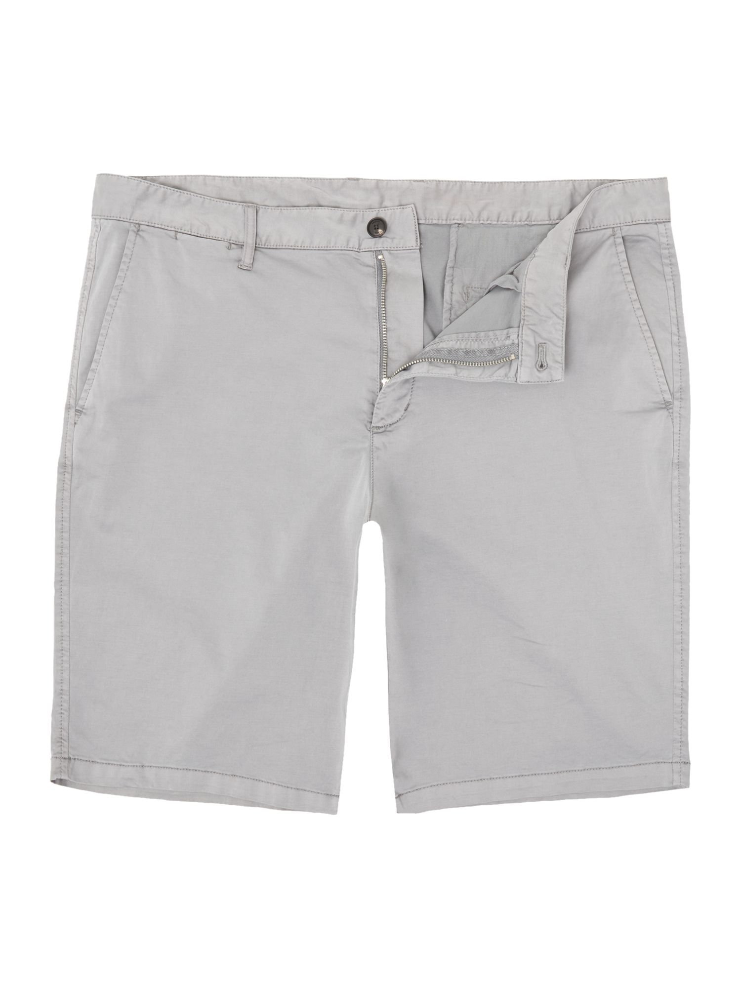 Mens Armani Jeans Regular fit chino shorts Grey