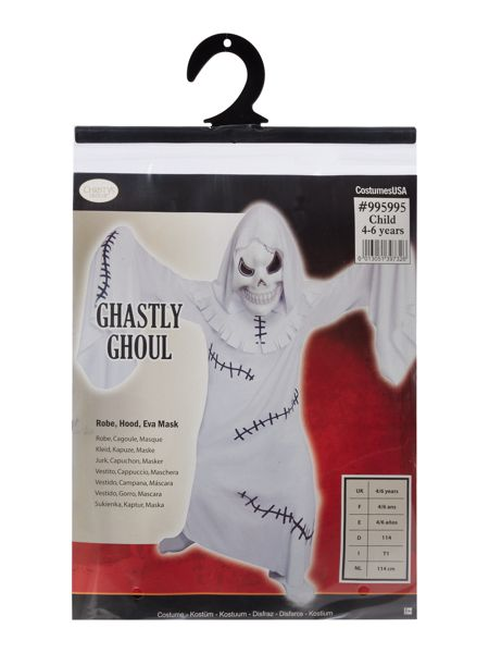 Travis Designs Boys Ghastly Ghoul Halloween Fancy Dress