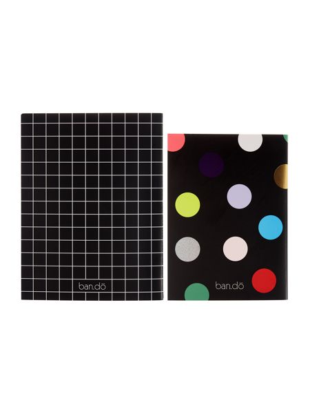 Ban.do Europop good ideas electro notebook set