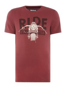Barbour Ride faster short sleeve t-shirt