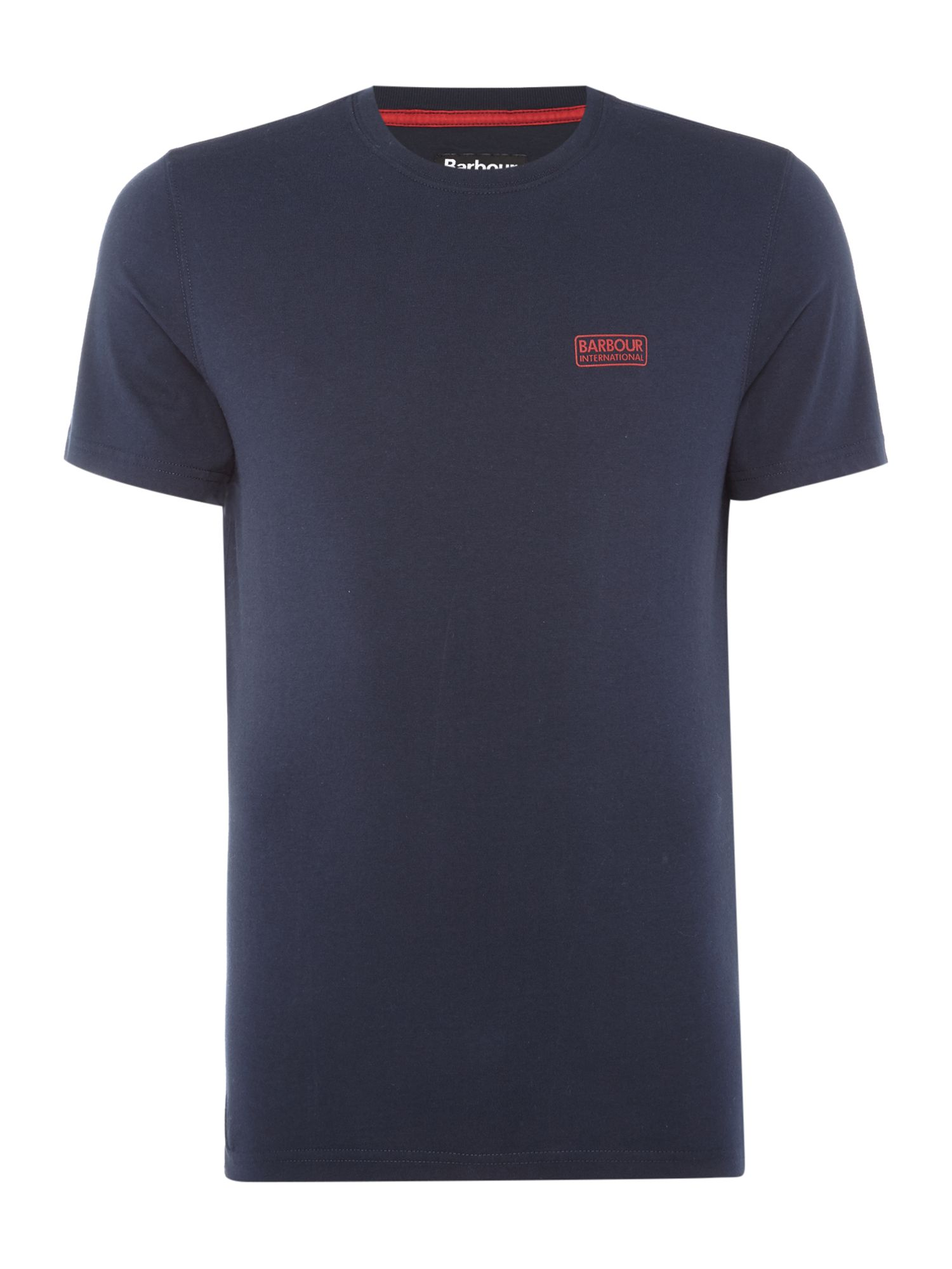 Men's Barbour International small logo T-Shirt, Blue