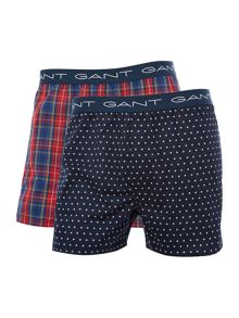 Gant 2 Pack Check and Star Gift Set