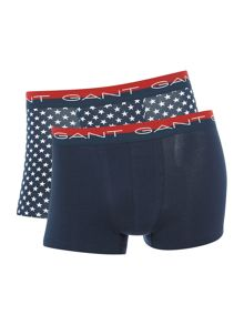 Gant 2 Pack Plain and Star Trunk Gift Set