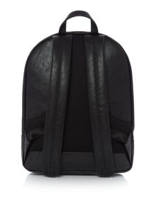 Armani Jeans Metal plaque logo backpack