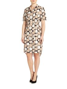 Linea Tessa printed shirt dress