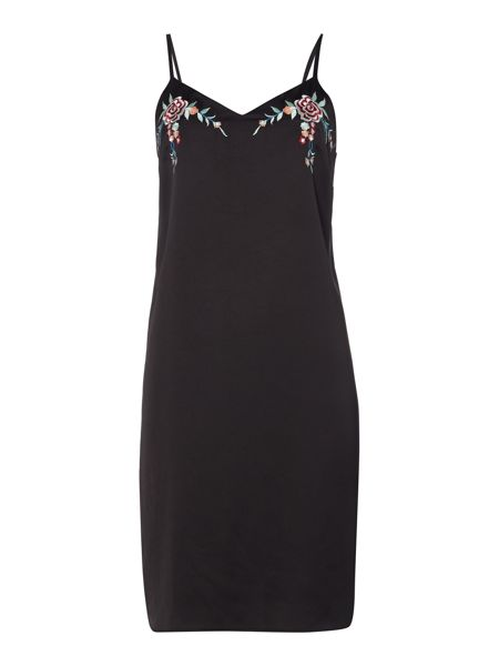 Therapy Embroidered Detail Cami Dress
