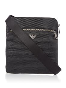 Armani Jeans Textured small crossbody bag