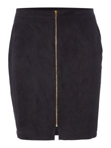 Therapy Suedette Mini Skirt