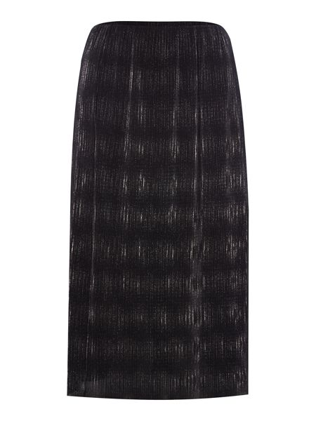 Therapy Pleated Foil Skirt