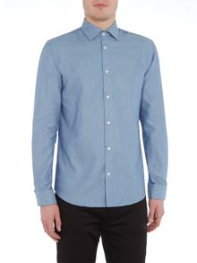 Selected Homme Structured Long-Sleeve Shirt