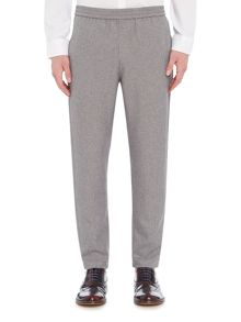 Selected Homme Melange Turn-Up-Hem Trousers
