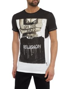Religion On the razz print t-shirt