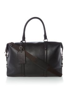 Linea Tall Clipper Pebble Leather Bag