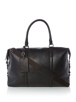 Tall Clipper Pebble Leather Bag
