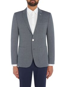 Hugo Hamilton Textured Jersey Jacket