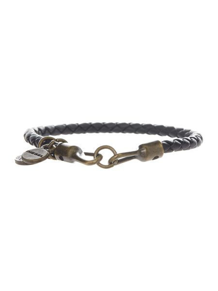 Diesel Santy Leather Bracelet