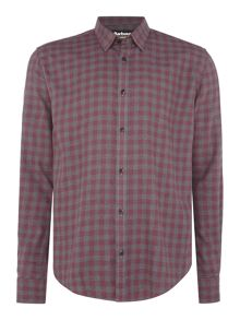 Barbour Long sleeve heathered gingham shirt