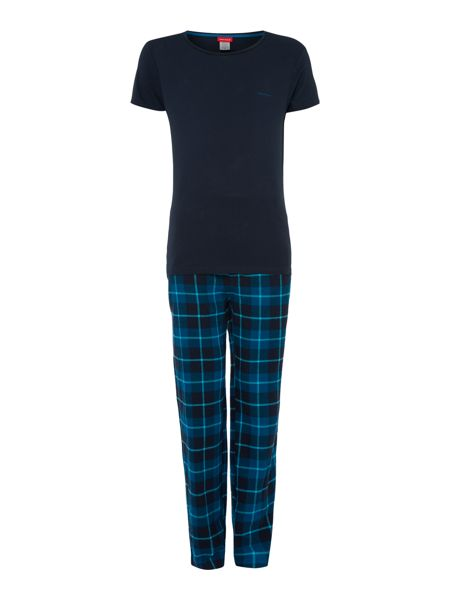 Bjorn Borg Check Pant and Tee Gift Set