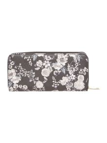 Guess Isabeau Floral Ziparound purse