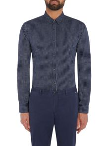 Hugo Ero 3 Grid Check Shirt