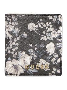 Guess Isabeau floral small flapover