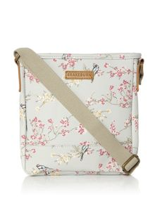 Brakeburn Bird blossom cross body bag