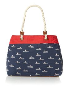 Brakeburn Boats beach bag