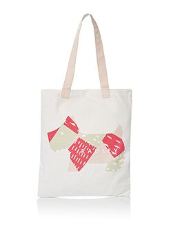 Deco dog medium tote bag