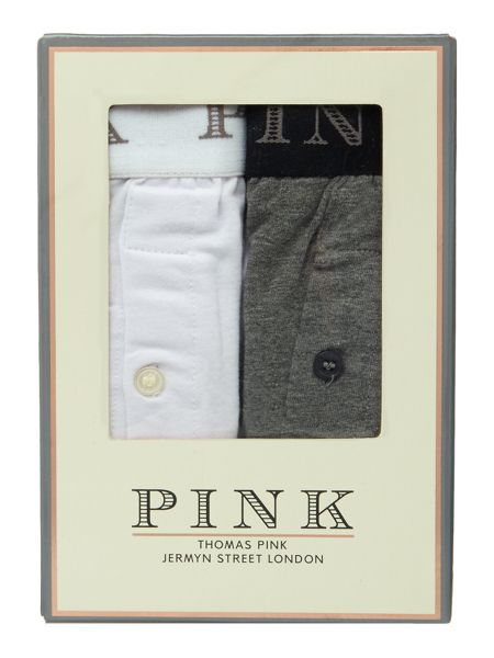 Thomas Pink 2 Pack Button Fly Boxer Brief