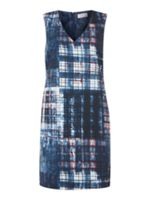 Label Lab Parker check print zip dress