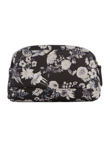 Guess Isabeau floral double zip cos bag