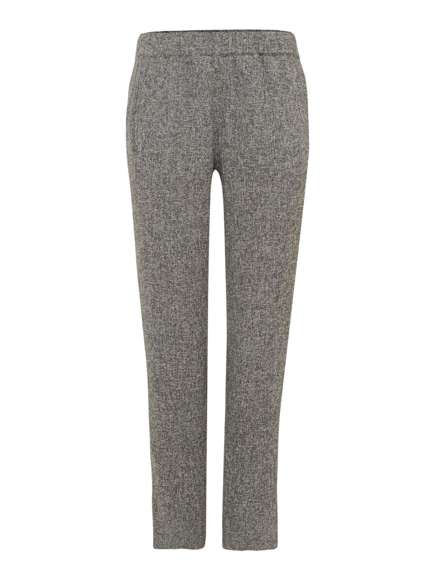 Ellen Tracy Tweed trousers, Grey