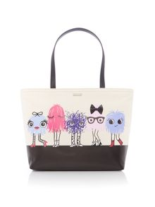 Kate Spade New York Monster francis tote bag