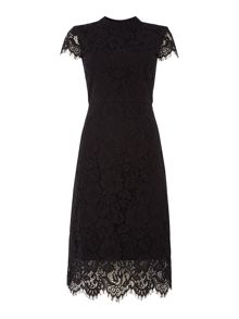 Ivy & Oak Lace cocktail dress with cap sleeves