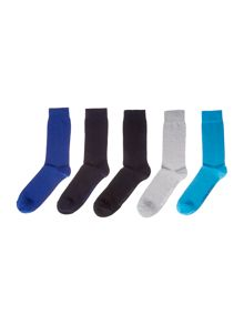 Bjorn Borg 5 Pack Basic Ankle Socks