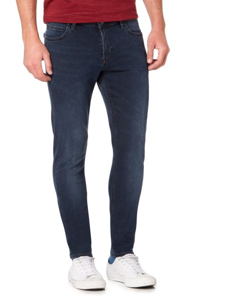 Lee Malone skinny fit mid wash jeans