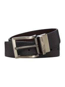 Armani Jeans Reversible Logo Buckle Belt