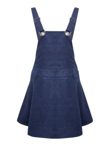Benetton Girls Dungaree Pinafore Dress