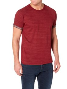 Lee Turn-up sleeve raglan t-shirt