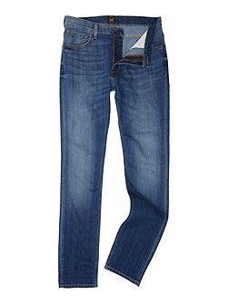 Rider slim fit mid wash jeans