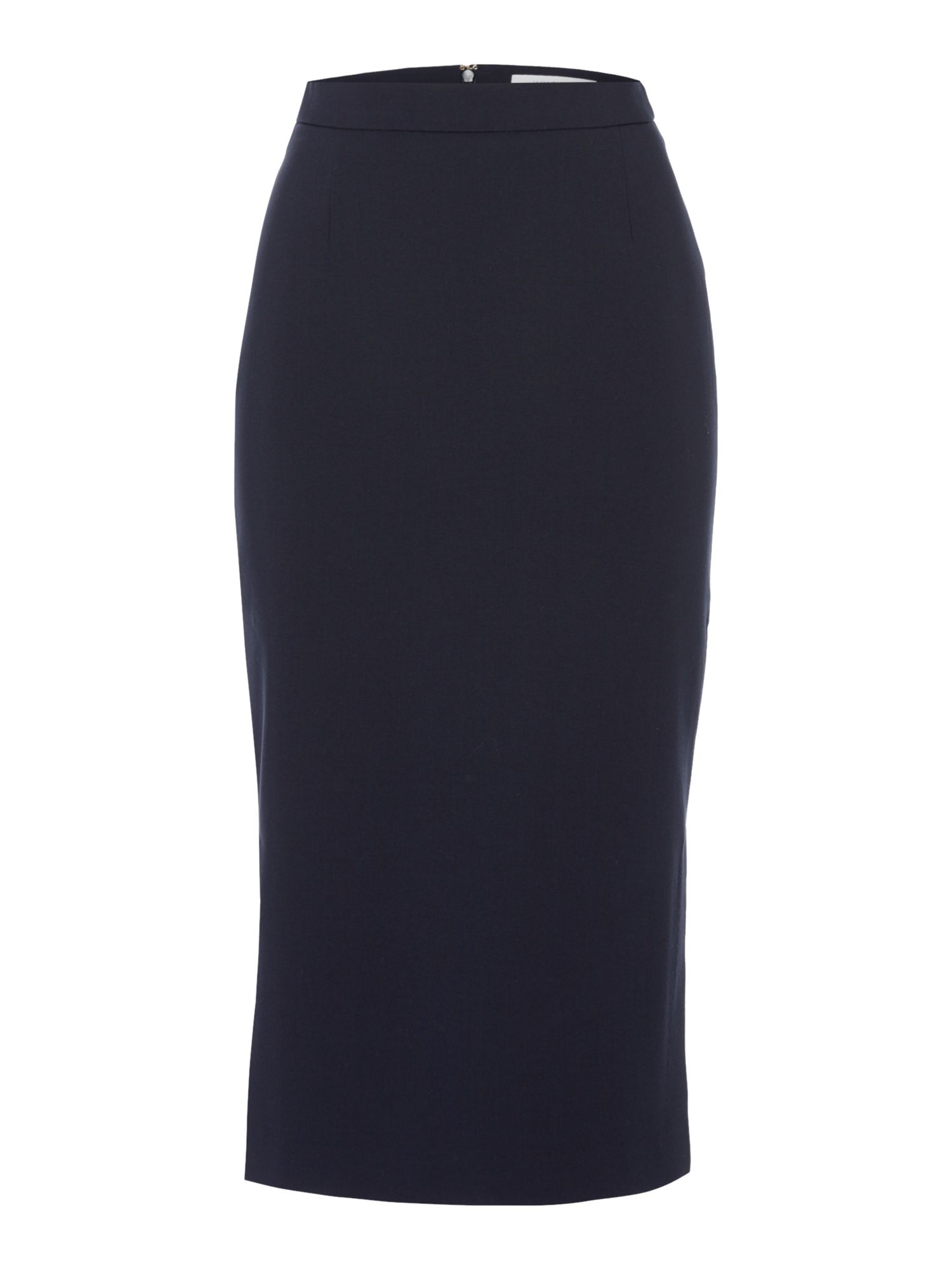 Ivy & Oak Crepe midi pencil skirt, Blue