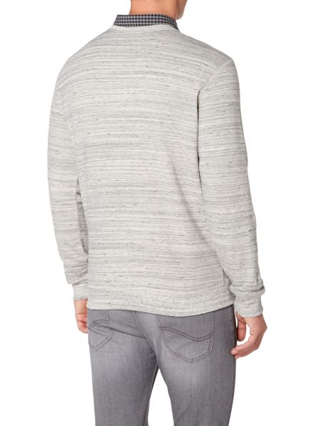 Lee Space dye crew neck sweat top