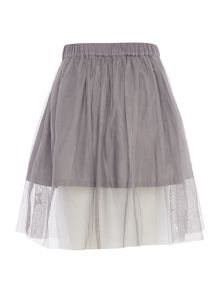 Benetton Girls Embroidered Tutu Skirt