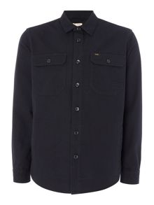 Lee 2 pocket long sleeve overshirt